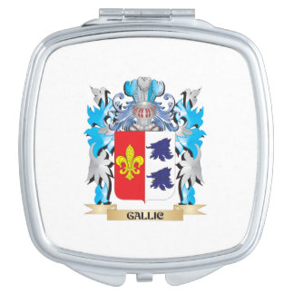 Gallic Coat of Arms - Family Crest Makeup Mirror