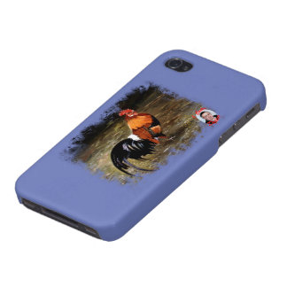 Gallic rooster//Rooster Covers For iPhone 4
