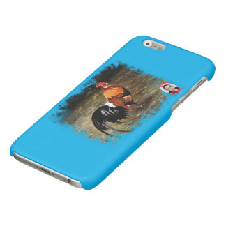 Gallic rooster//Rooster Glossy iPhone 6 Case