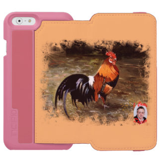 Gallic rooster//Rooster iPhone 6/6s Wallet Case