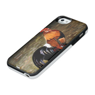 Gallic rooster//Rooster iPhone SE/5/5s Battery Case