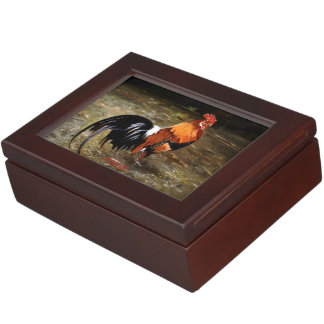 Gallic rooster//Rooster Keepsake Box
