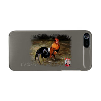 Gallic rooster//Rooster Metallic iPhone SE/5/5s Case
