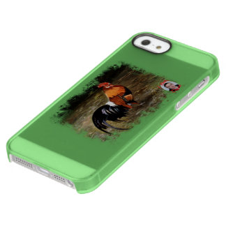 Gallic rooster//Rooster Permafrost iPhone SE/5/5s Case