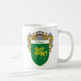 Galligan Coat of Arms (Mantled) Coffee Mug