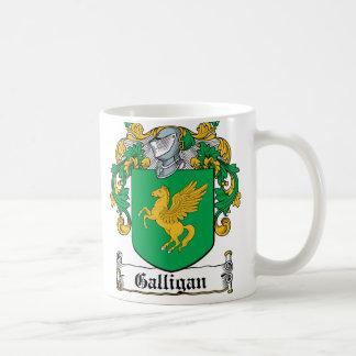 Galligan Family Crest Coffee Mug
