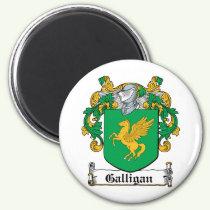 Galligan Family Crest Magnet