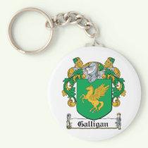 Galligan Family Crest Keychain