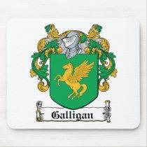 Galligan Family Crest Mousepad