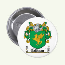 Galligan Family Crest Button