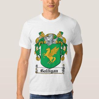 Galligan Family Crest T Shirt