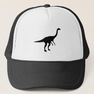 Gallimimus Dino Dinosaur Silhouette Trucker Hat