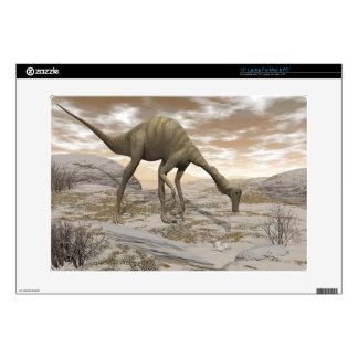 Gallimimus dinosaur - 3D render Laptop Decal