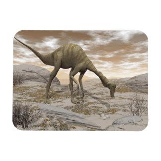 Gallimimus dinosaur - 3D render Magnet
