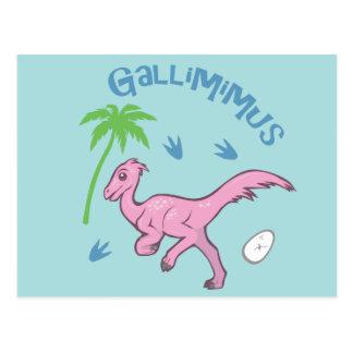 Gallimimus lindo postales