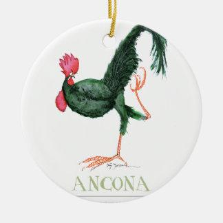 Gallina de Ancona, fernandes tony Adorno Redondo De Cerámica