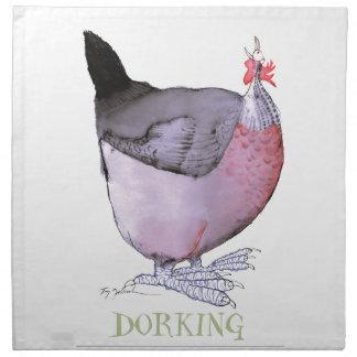Gallina de DORKING, fernandes tony Servilleta Imprimida