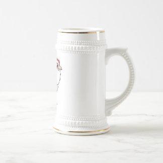 Gallina de Faverolles Tazas De Café