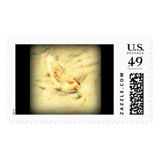 Gallina de oro sello