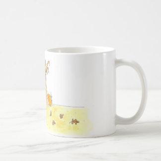 Gallina en el maíz taza