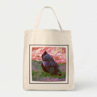 Gallina feliz bolsa tela para la compra