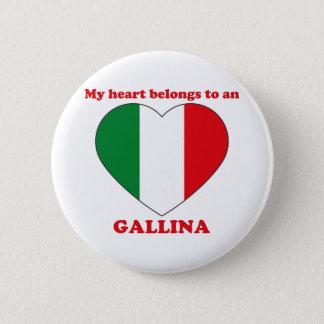 Gallina Pinback Button