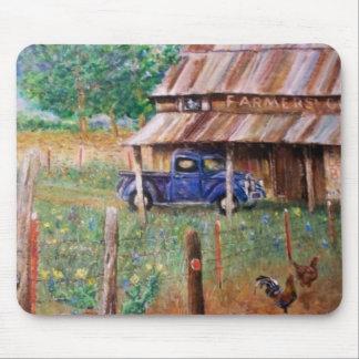 Gallinero de los granjeros tapete de raton
