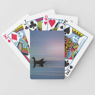 Gallinule Smooth Bicycle Playing Cards