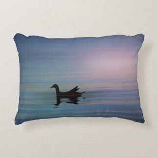 Gallinule Smooth Decorative Pillow