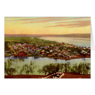 Gallipolis, Ohio from Mount Hill, 1907 Greeting Card