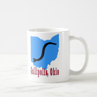 Gallipolis, Ohio Classic White Coffee Mug