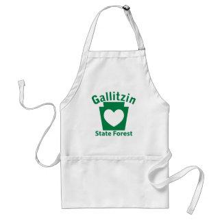 Gallitzin SF Heart Adult Apron