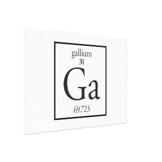 Gallium Canvas Print