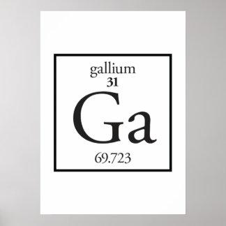 Gallium Poster