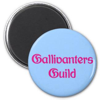 Gallivanters Guild 2 Inch Round Magnet