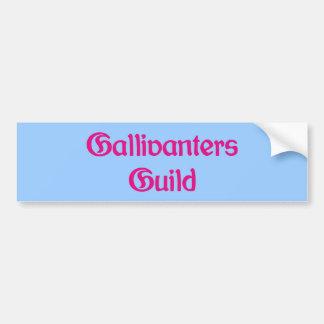 Gallivanters Guild Bumper Sticker
