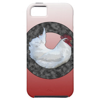 Gallo blanco funda para iPhone SE/5/5s
