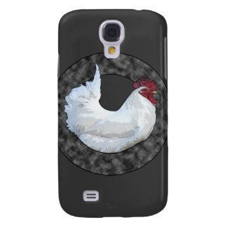 Gallo blanco funda samsung s4