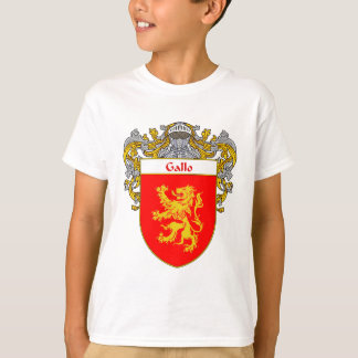 Gallo Coat of Arms (Mantled) T-Shirt