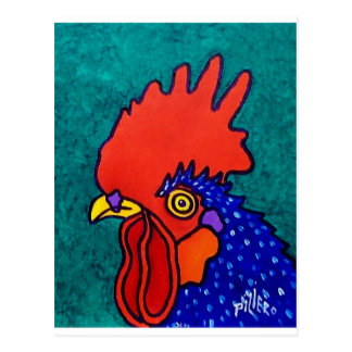 Gallo de abril postales