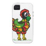 Gallo de Barcelos del portugués iPhone 4/4S Carcasa