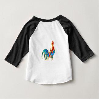 Gallo de cacareo colorido playeras