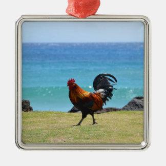 Gallo de Kauai Adornos