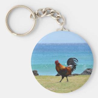 Gallo de Kauai Llaveros Personalizados