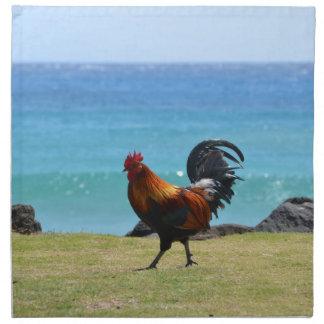 Gallo de Kauai Servilletas De Papel