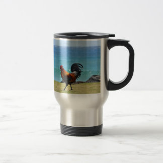Gallo de Kauai Tazas