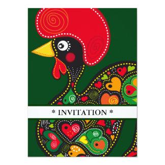 Gallo de la invitación de Barcelos Nr 02