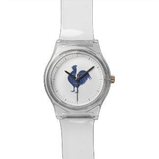 Gallo de la púrpura del vintage relojes de pulsera