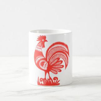 gallo de los años 50 taza clásica