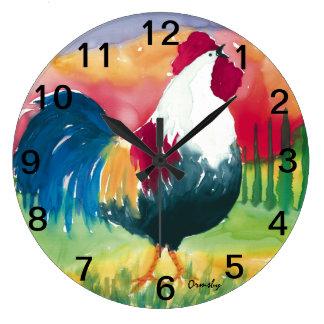 Gallo de Luciano - reloj de pared